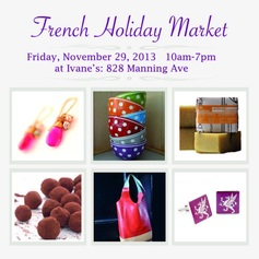 French Holiday Market Nov 2013